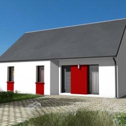 Maison  4 pièces + Terrain  1008 m² Villefranche-sur-Cher