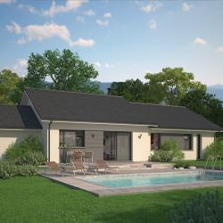 Maison  4 pièces + Terrain  800 m² La Biolle