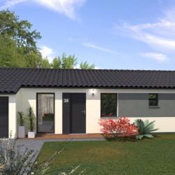 Maison  5 pièces + Terrain  500 m² La Tour-du-Pin