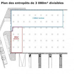 Location Entrepôt La Seyne-sur-Mer 5480 m²