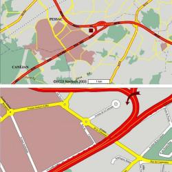 Location Bureau Pessac 1348 m²