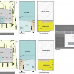 Location Local d'activités Tigery 1137 m²