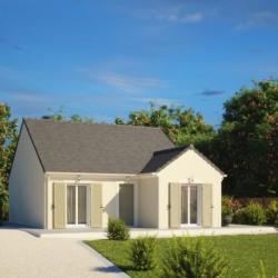 Maison  2 pièces + Terrain  500 m² Saint-Étienne-de-Chigny
