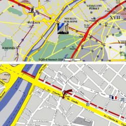 Location Bureau Neuilly-sur-Seine 1741 m²