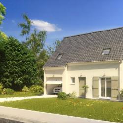 Maison  6 pièces + Terrain  600 m² Notre-Dame-de-Gravenchon