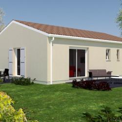 Maison  4 pièces + Terrain  680 m² Les Églisottes-et-Chalaures