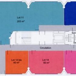 Location Bureau Lognes 60 m²