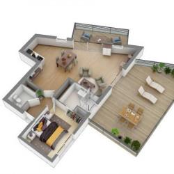 photo appartement neuf La Baule-Escoublac