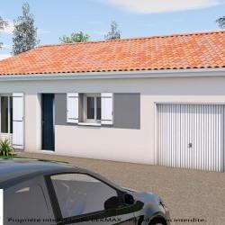 Maison  3 pièces + Terrain  985 m² Brie
