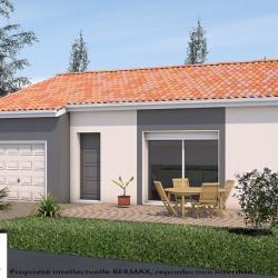 Maison  4 pièces + Terrain  1065 m² Saint-Simon-de-Pellouaille