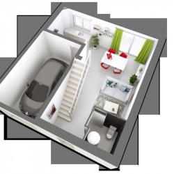 Maison  4 pièces + Terrain  303 m² Étampes