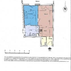 Appartement Nice 2 pièce (s) 40,55 m²