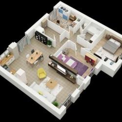 Maison  4 pièces + Terrain  590 m² Brou