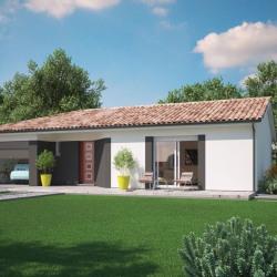 Maison  4 pièces + Terrain  1100 m² Monségur