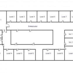 Location Bureau Paris 13ème 280 m²