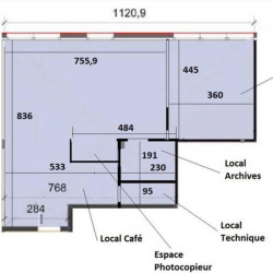 Location Bureau Dardilly 85 m²