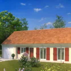 Maison  5 pièces + Terrain  1275 m² Villeneuve-les-Bordes