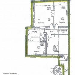Location Bureau Nancy 190 m²