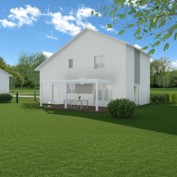 Maison  5 pièces + Terrain  1314 m² Brenthonne
