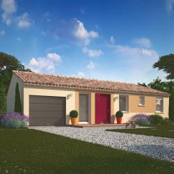 Maison  5 pièces + Terrain  600 m² Beaujeu