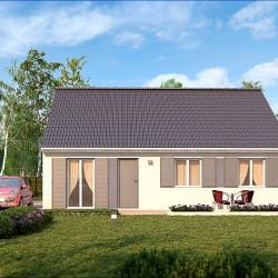 Maison  4 pièces + Terrain   m² Bazoches-Lès-Bray