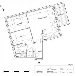 Appartement (T3) - 65.06