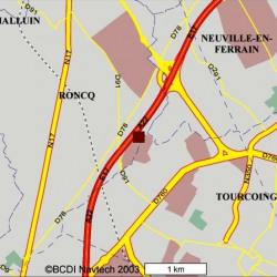 Location Bureau Roncq 1370 m²