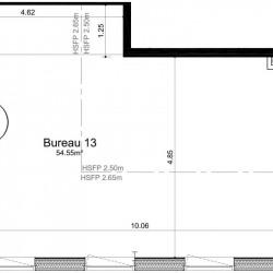 Vente Bureau Ifs 55 m²