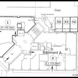 Location Bureau Lyon 6ème 208 m²