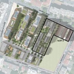 Location Bureau Lyon 8ème 2165,9 m²