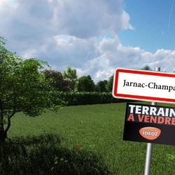 Terrain  de 886 m²  Jarnac-Champagne  (17520)