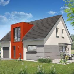 Maison  4 pièces + Terrain  480 m² Blotzheim