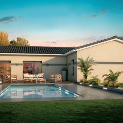Maison  4 pièces + Terrain  505 m² Saint-Hilaire-de-Brethmas