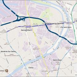 Location Local d'activités Gennevilliers 3373 m²