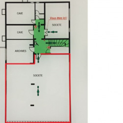 Location Bureau Genas 130 m²