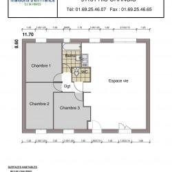Maison  5 pièces + Terrain  440 m² Montmirail