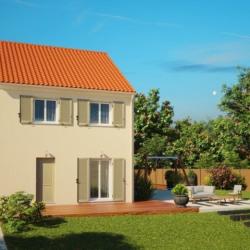 Maison  4 pièces + Terrain  672 m² Brou