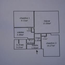 produit d'investissement Appartement 3 pièces Argenteuil