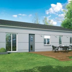 Maison  4 pièces + Terrain  971 m² Bourg