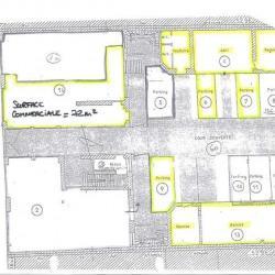 Location Bureau Nancy 72 m²