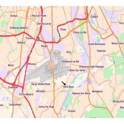 Location Local d'activités Athis-Mons 715 m²