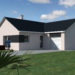 Maison  4 pièces + Terrain  830 m² Vaux-les-Prés