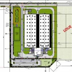 Location Entrepôt Trappes 12800 m²