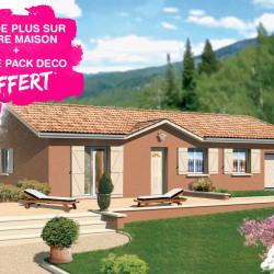 Maison  4 pièces + Terrain  1000 m² Saint-Didier-de-la-Tour