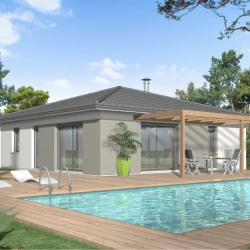 Maison  5 pièces + Terrain  550 m² Saint-André-de-Cubzac