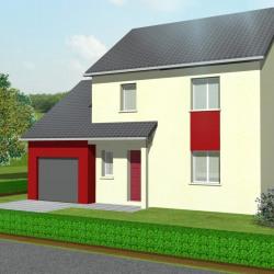 Maison  6 pièces + Terrain  600 m² Belleville