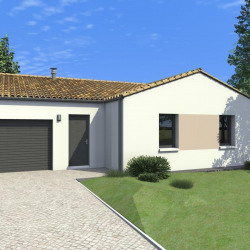 Maison  5 pièces + Terrain  502 m² Le Vanneau-Irleau