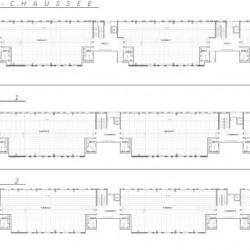 Location Bureau Vaulx-en-Velin 3285 m²
