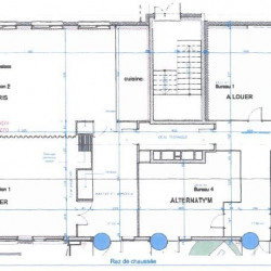 Location Bureau Saint-Priest 81 m²