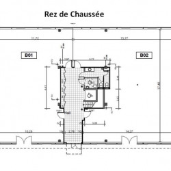 Vente Bureau Rousset 943 m²